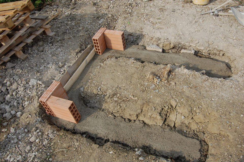 Costruire un forno a legna in mattoni abitare - Costruire forno a legna economico ...